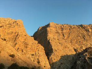 Päikeseloojang kanjonis